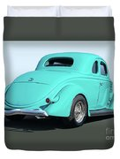 1936 Ford Coupe Duvet Cover