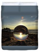 8-25-16--5717 Don't Drop The Crystal Ball, Crystal Ball Photography Duvet Cover