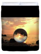 8-26-16--5927 Don't Drop The Crystal Ball, Crystal Ball Photography Duvet Cover