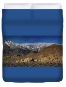 Alabama Hills, Ca Duvet Cover