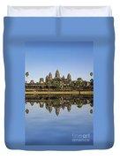 Angkor Wat Duvet Cover by MotHaiBaPhoto Prints
