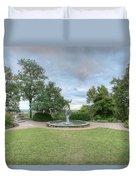 Bee Tree Park Duvet Cover
