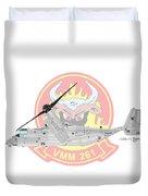 Bell Boeing Mv-22b Osprey Duvet Cover
