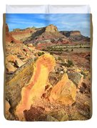 Capitol Reef Scenic Drive Duvet Cover