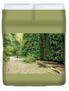 Fern Canyon Duvet Cover