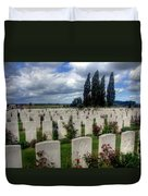 Flanders Fields Belgium Duvet Cover