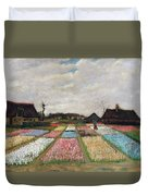 Flower Beds In Holland Duvet Cover