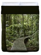 Forest Boardwalk Duvet Cover
