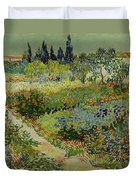Garden At Arles Duvet Cover