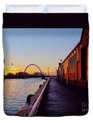 Glasgow, Scotland Duvet Cover