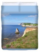 Isle Of Wight - England Duvet Cover