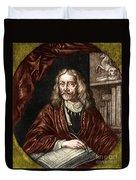Johannes Hevelius, Polish Astronomer Duvet Cover