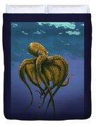 8 Legs Of The Sea Duvet Cover