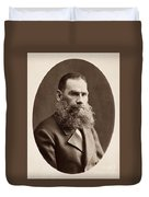 Leo Tolstoy (1828-1910) Duvet Cover