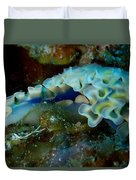 Lettuce Sea Slug Duvet Cover