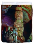 Marble Cave Crimea Duvet Cover