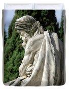 Monumental Cemetery Of Staglieno Duvet Cover