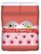 Mother's Day Duvet Cover