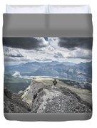 Mount Black Rock Duvet Cover