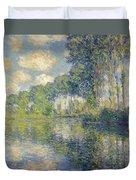 Poplars, On The Epte Duvet Cover