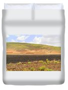 Rural Landscape In Ethiopia Duvet Cover