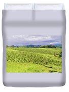 Rural Landscape In Tanzania Duvet Cover