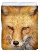 Russian Red Fox Duvet Cover