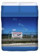 St. Marrten Caribbean Island Duvet Cover