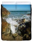 Sunshine Beach At Noosa, Sunshine Coast Duvet Cover