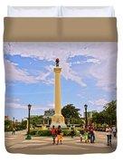 Traversing Santiago De Cuba, Cuba. Duvet Cover