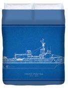 U.s. Coast Guard Cutter Polar Sea Duvet Cover