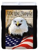 We The People. Duvet Cover