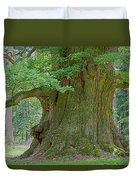 800 Years Old Oak Tree  Duvet Cover by Heiko Koehrer-Wagner