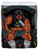 80's King Duvet Cover