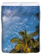 8156- Palm Tree Duvet Cover