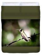 8181-001 - Ruby-throated Hummingbird Duvet Cover