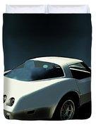 82 Corvette Generation C3 1968 To 1982 Duvet Cover