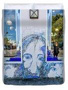 8261- Little Havana Mural Duvet Cover