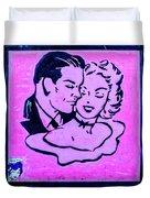 8280- Little Havana Mural Duvet Cover