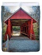 8350- Campbell's Covered Bridge Duvet Cover