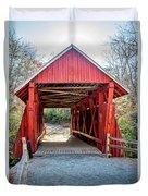 8351- Campbell's Covered Bridge Duvet Cover