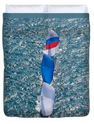 Key West Race Week Duvet Cover