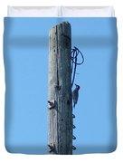 #866x Woodpecker Duvet Cover