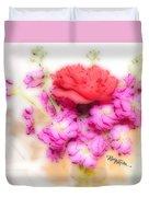 #8742 Soft Flowers Duvet Cover