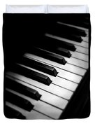 88 Keys To The Heart Duvet Cover