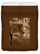 8th Ave Trolley Duvet Cover