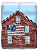 9 11 Tribute Duvet Cover