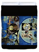 Abstract Painting - Onyx Duvet Cover