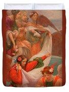 Angels Descending Duvet Cover