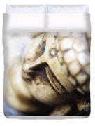 Buddha Sculpture Duvet Cover